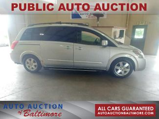 2004 Nissan Quest SE   JOPPA, MD   Auto Auction of Baltimore  in Joppa MD