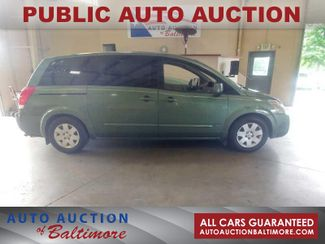 2004 Nissan Quest S   JOPPA, MD   Auto Auction of Baltimore  in Joppa MD