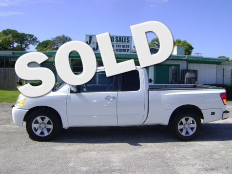 2004 Nissan Titan LE EXT CAB in Fort Pierce, FL