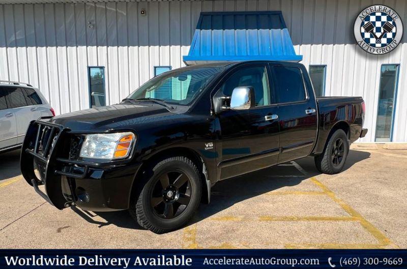 2004 Nissan Titan 5.6L V8 SE Leather Rockford Fosgate Stereo 1-Owner in Rowlett Texas