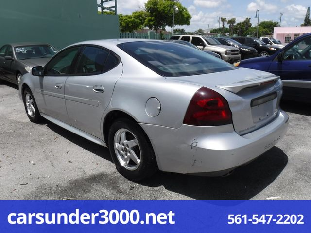 2004 Pontiac Grand Prix GT1 Lake Worth , Florida 2