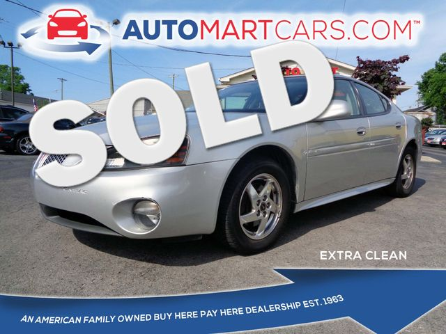 2004 Pontiac Grand Prix GT2 | Nashville, Tennessee | Auto Mart Used Cars Inc. in Nashville Tennessee