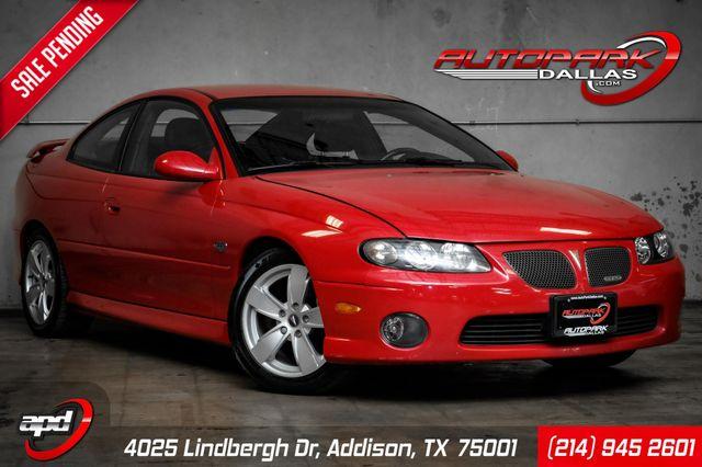 2004 Pontiac GTO Pulse Red Edition