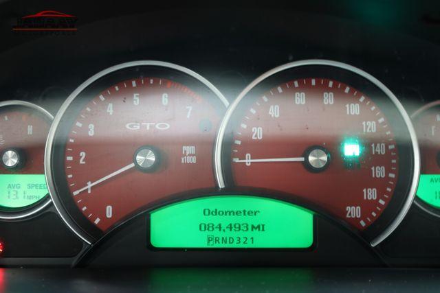 2004 Pontiac GTO Merrillville, Indiana 18