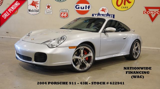 2004 Porsche 911 Carrera 4S Coupe 6 SPD,SUNROOF,HTD LTH,BOSE,43K