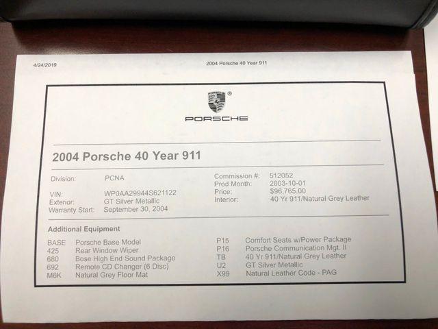 2004 Porsche 911 40th Ann Carrera Longwood, FL 43