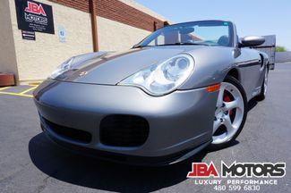 2004 Porsche 911 Turbo Cabriolet Convertible AWD 6 Speed w/ Hardtop   MESA, AZ   JBA MOTORS in Mesa AZ