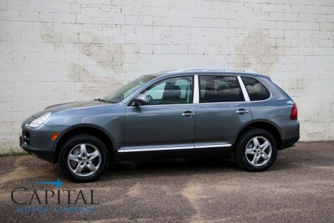 2004 Porsche Cayenne S V8 Sport SUV w/Navigation, Heated Front & Rear Seats, Moonroof & Tow Package in Eau Claire