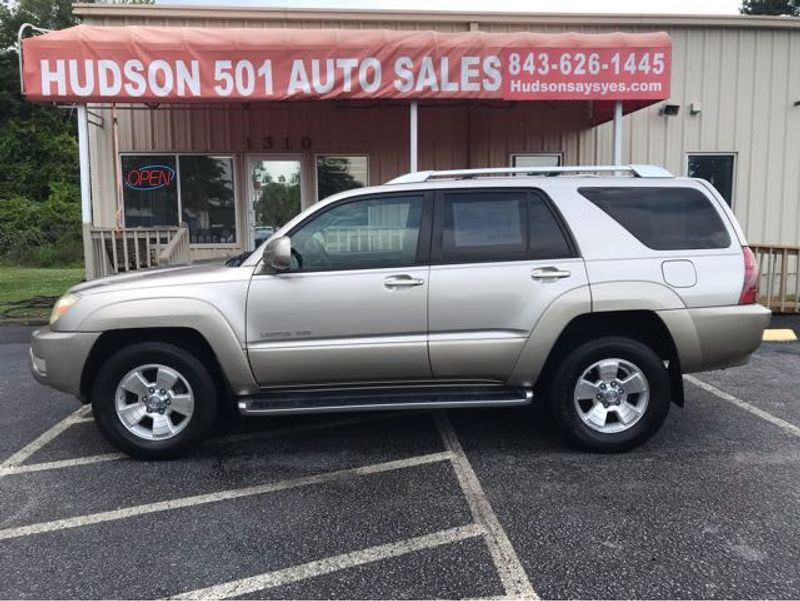 2004 Toyota 4Runner Limited | Myrtle Beach, South Carolina | Hudson Auto Sales in Myrtle Beach South Carolina