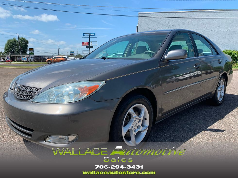 2004 toyota camry xle augusta georgia wallace automotive sales leasing 2004 toyota camry xle augusta georgia