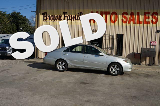 2004 Toyota Camry LE   Houston, TX   Brown Family Auto Sales in Houston TX