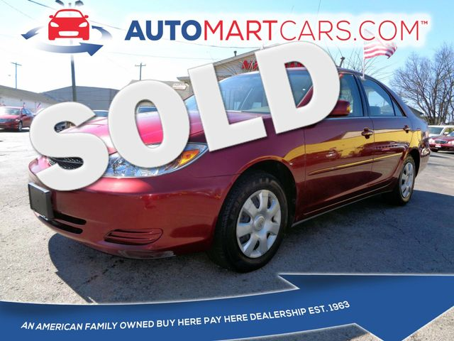 2004 Toyota Camry LE | Nashville, Tennessee | Auto Mart Used Cars Inc. in Nashville Tennessee