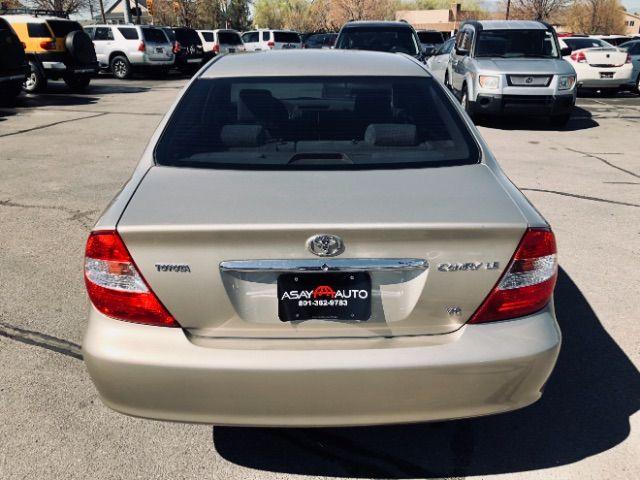 2004 Toyota CAMRY V6 XLE V6 LINDON, UT 3
