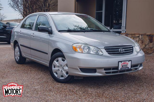 2004 Toyota Corolla CE LOW MILES