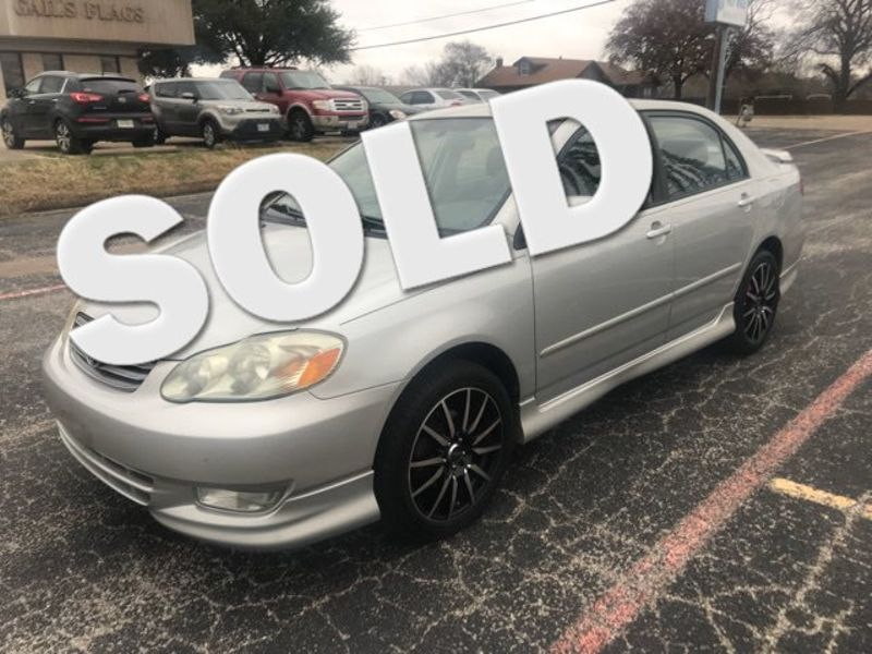 2004 Toyota Corolla S 78k Like New | Ft. Worth, TX | Auto World Sales LLC in Ft. Worth TX