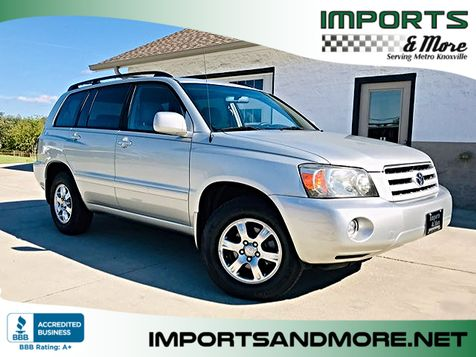 2004 Toyota Highlander 4wd V6 with 3rd Row in Lenoir City, TN