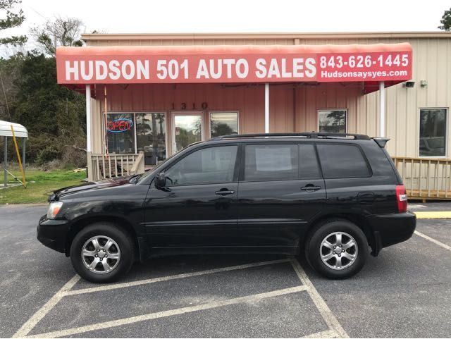 2004 Toyota Highlander V6 4WD | Myrtle Beach, South Carolina | Hudson Auto Sales in Myrtle Beach South Carolina