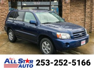 2004 Toyota Highlander V6 AWD in Puyallup Washington, 98371