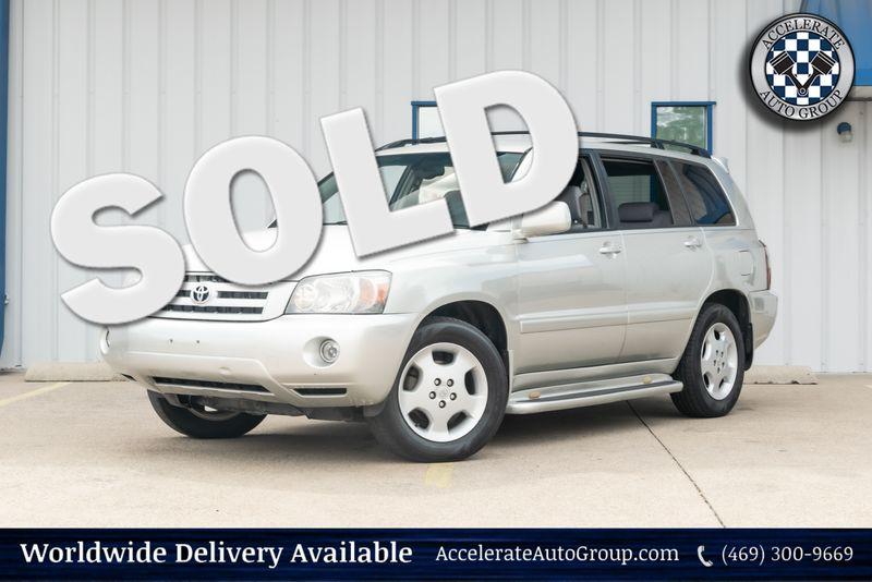 2004 Toyota Highlander Limited in Rowlett Texas