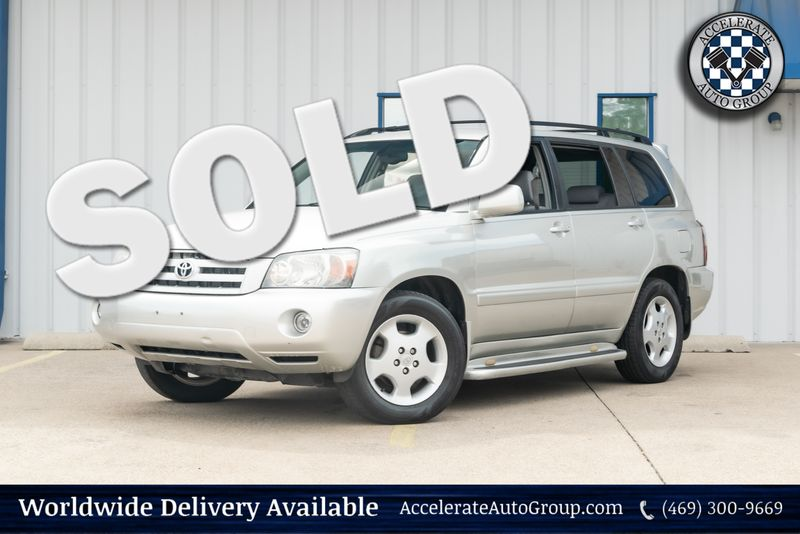2004 Toyota Highlander Limited in Rowlett Texas