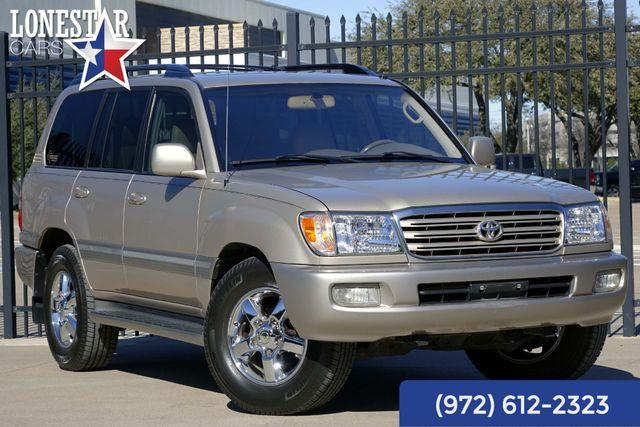 2004 Toyota Land Cruiser AWD Clean Carfax