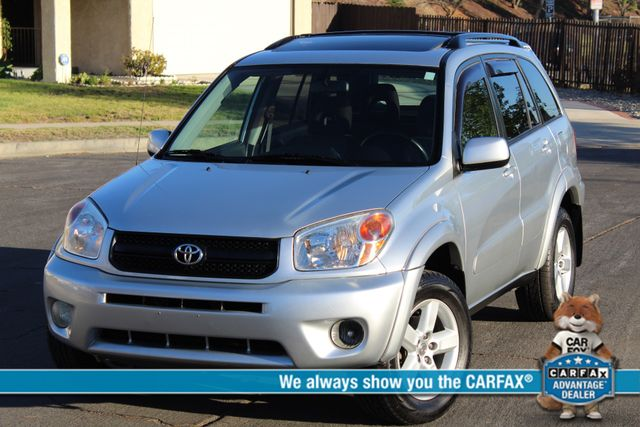 2004 Toyota RAV4 SPORT UTILITY 4WD NEW TIRES SUNROOF SERVICE RECORDS in Woodland Hills CA, 91367