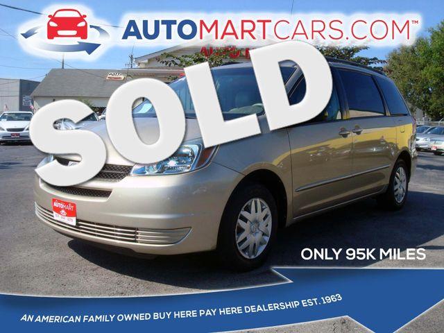 2004 Toyota Sienna LE | Nashville, Tennessee | Auto Mart Used Cars Inc. in Nashville Tennessee