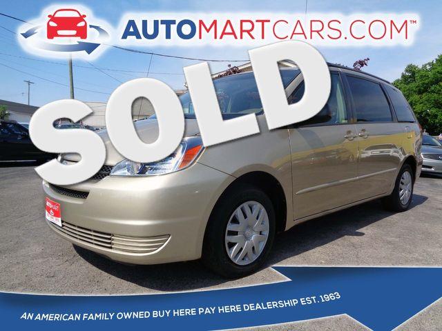 2004 Toyota Sienna LE   Nashville, Tennessee   Auto Mart Used Cars Inc. in Nashville Tennessee