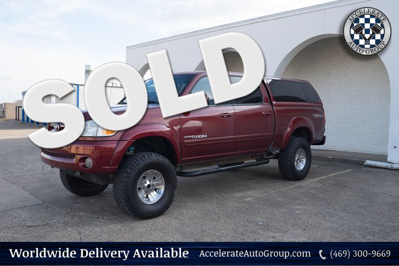 2004 Toyota Tundra LIMITED TRD LIFTED NICE!!! in Rowlett Texas