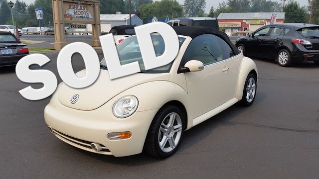 2004 Volkswagen New Beetle GLS Turbo | Ashland, OR | Ashland Motor Company in Ashland OR