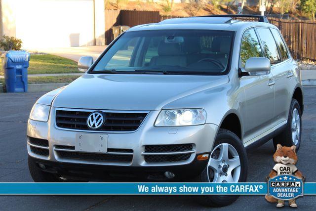 2004 Volkswagen TOUAREG 3.2L SPORT UTILITY SERVICE RECORDS