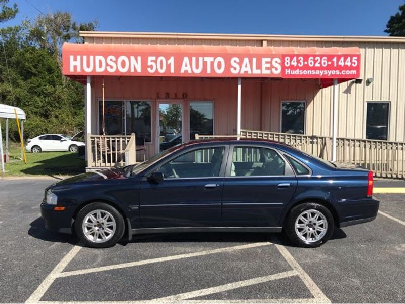 2004 Volvo S80 2.5T   Myrtle Beach, South Carolina   Hudson Auto Sales in Myrtle Beach South Carolina