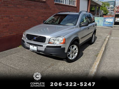 2004 Volvo XC90 T6 All Wheel Drive Sport Utility Local 2 Owner Heated Seats Moonroof Transmission Rebuilt in Seattle