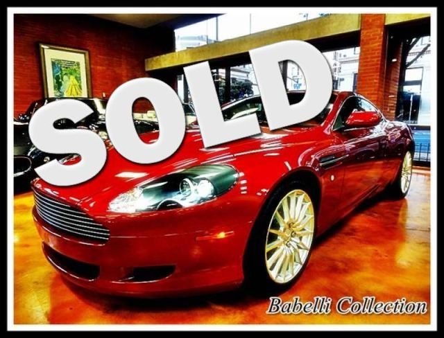 2005 Aston Martin DB9 Only 8700 Miles La Jolla, California 0