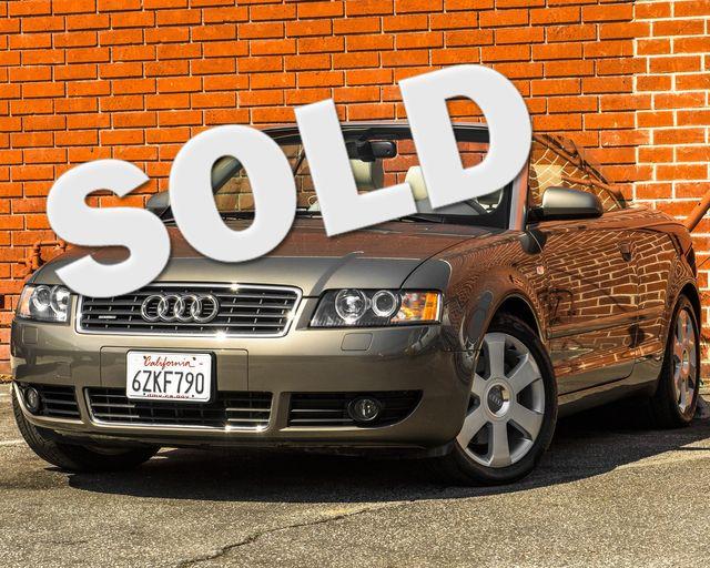 2005 Audi A4 3.0L Burbank, CA
