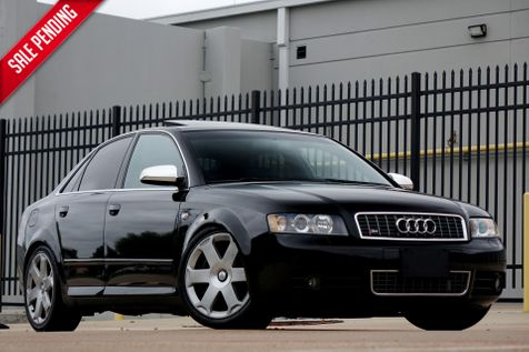 2005 Audi S4* Alcantara* Manual* Low Miles* Bilstein Coilovers* Custom Exhaust*** | Plano, TX | Carrick's Autos in Plano, TX