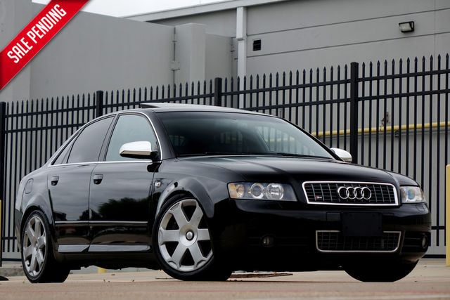 2005 Audi S4* Alcantara* Manual* Low Miles* Bilstein Coilovers* Custom Exhaust*** | Plano, TX | Carrick's Autos in Plano TX