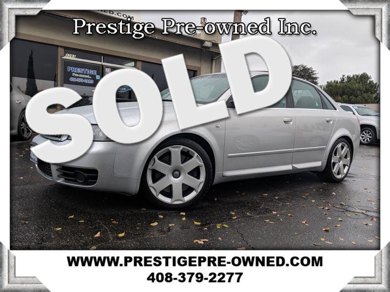 2005 Audi S4 ((**AWD//PREM/COLD WTR PKG**))  in Campbell CA