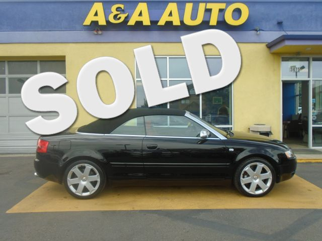2005 Audi S4 QUATTRO CABRIOLET