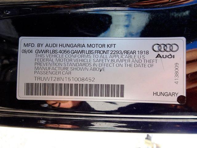 2005 Audi TT 1.8T Madison, NC 39