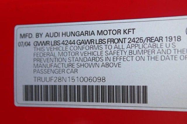 2005 Audi TT 2dr Roadster quattro D.S. Auto St. Louis, Missouri 20