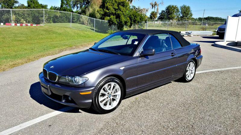 2005 BMW 330Ci CI CONVERTIBLE CLEAN CARFAX 1 owner | Palmetto, FL | EA Motorsports in Palmetto, FL