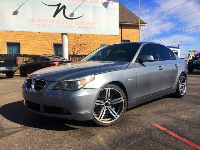 2005 BMW 545i I 40 LOCATION 405-917-7433