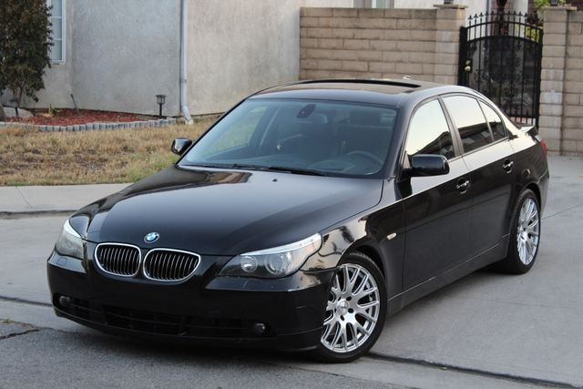 2005 BMW 545i SPORTS PKG XENON NEW CLUTCH SERVICE RECORDS AVAILABLE in Woodland Hills CA, 91367