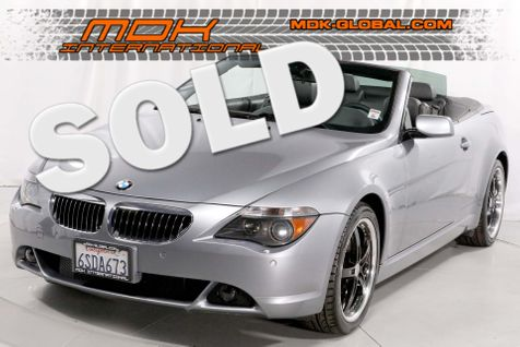 2005 BMW 645Ci - MANUAL - SPORT PKG - AUX in Los Angeles