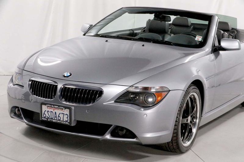 2005 BMW 645Ci - MANUAL - SPORT PKG - AUX  city California  MDK International  in Los Angeles, California