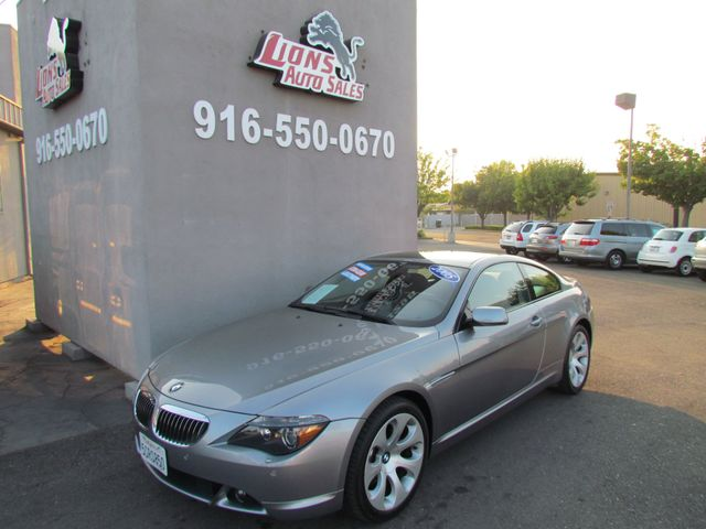 2005 BMW 645Ci extra clean / night vision / one owner in Sacramento, CA 95825