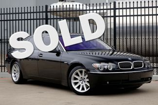 2005 BMW 745Li Only 61k Miles * DVD * 19's * LUX Seating * LOADED Plano, Texas