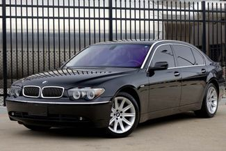 2005 BMW 745Li Only 61k Miles * DVD * 19's * LUX Seating * LOADED Plano, Texas 1