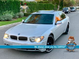 2005 BMW 745Li SPORTS PKG NAVIGATION SERVICE RECORDS NEW TIRES in Van Nuys, CA 91406